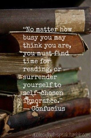 You're never too busy to read.